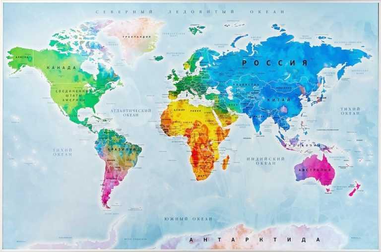 Про трансконтинентальные административно-территориальные единицы