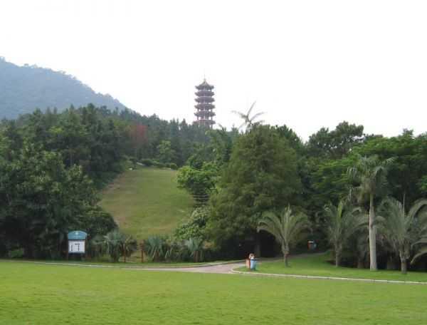 Fairy Lake Botanical Garden и Шэньчжэнь. Китай