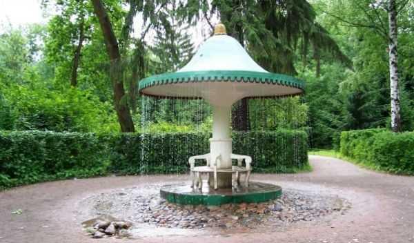 Петергоф фонтан