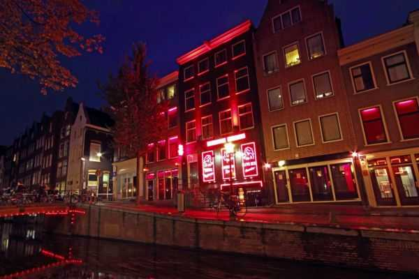 Амстердам вечером