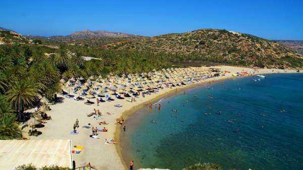 остров Крит море